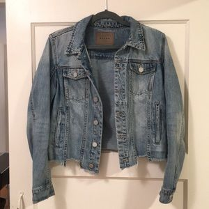 Blank NYC Shark Bite Denim Jacket